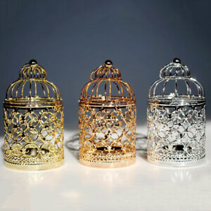 Vintage-Metal-Hollow-Candle-Holder-Moroccan-Candlestick-Hanging-Lantern-Wedding