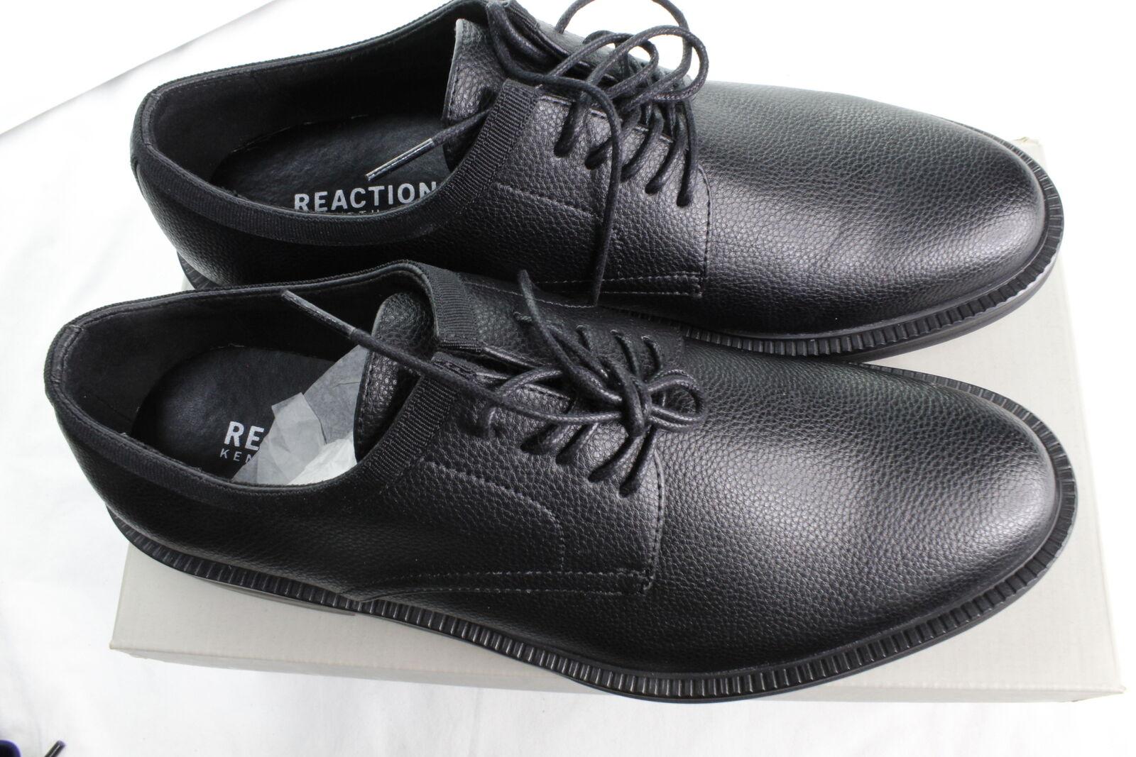 New Kenneth Cole Reaction Strive Oxford Shoes Black JL0