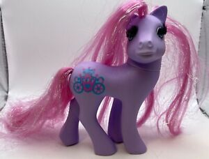 Vintage My Little Pony Princess Royal Pink Purple Princess Pony MLP G1 Some Wear