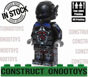 DEATHSTROCK minifigure lego Custom PAD UV Printed BRICK minifigure