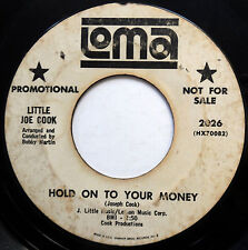 LITTLE JOE COOK 45 Hold On To Your Money / Don't You PROMO Soul POPCORN w3164