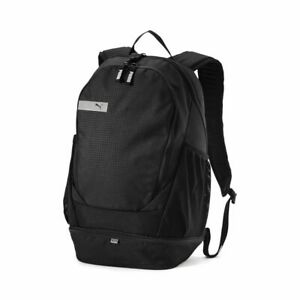 Puma-Vibe-Sport-Casual-Travel-Laptop-Backpack-Rucksack-Bag-Unisex-Black