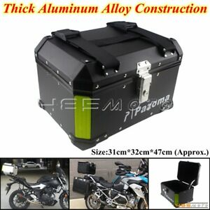 Motorcycle Tour Tail Box Scooter Trunk Luggage Top Lock Storage Carrier Case 36L