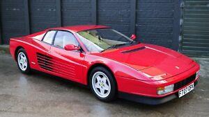 1984-Ferrari-Testarossa-Auto-Car-Art-Silk-Wall-Poster-Print-24x36-034