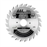 Age Saw Blades Md120-t12 Scoring 120mm/12x2 20mm Bore