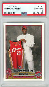 LeBron-James-Cleveland-Cavaliers-2003-Topps-Basketball-Rookie-Card-RC-221-PSA-8