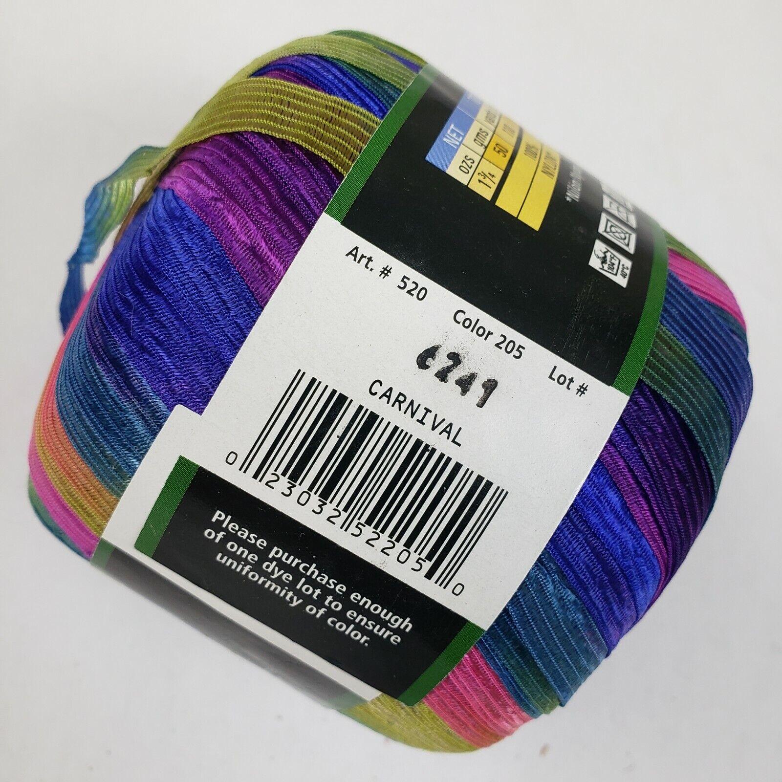 Carnival 46367 NEW Incredible Lion Brand Ribbon Yarn For Knit /& Crochet