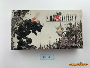 FINAL FANTASY VI 6 Nintendo Super Famicom SNES SFC JAPAN Ref:313300