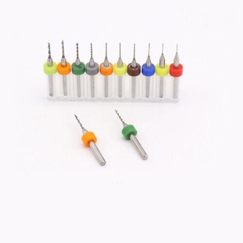 10pcs 0.6 mm Carte de circuit imprimé Carte De Circuit carbure de tungstène micro forets queue de 3.175