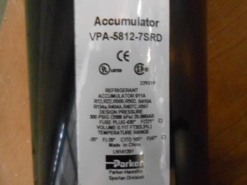 PARKER//RHEEM VPA-5812-7SRD//83-22459-13 REFRIGERATION ACCUMULATOR 178462