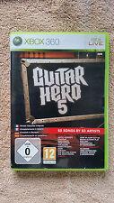 Guitar Hero 5  Xbox 360  / complet / envoi gratuit