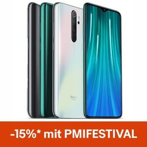 "Xiaomi Redmi Note 8 Pro 64GB 6GB Smartphone Handy 6.53"" Quick Charge 4500mAh"