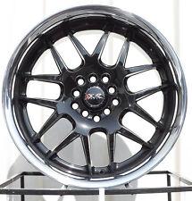 XXR 526 18X9 5-4.5/5-120 et25 Black / SSC Wheel (1 Rim)