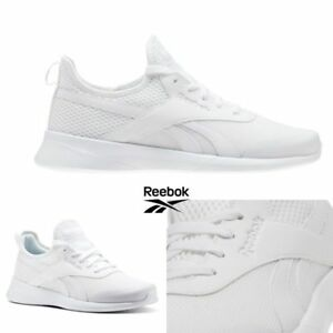 Details about Reebok Princess Women's Sneaker Fitness Shoe Trainers White Black J95361 J95362