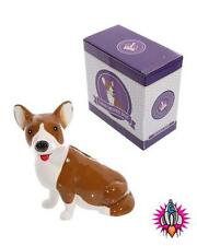 CORGI DOG KITSCH CERAMIC MONEY BOX PIGGY BANK POT