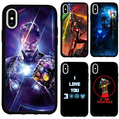 Iron Man Avengers Endgame Phone Case Cover for iPhoneSE 2020 11 12 Pro Max XR XS   eBay