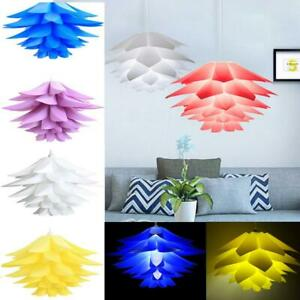 50CM-Pendant-DIY-Lotus-Chandelier-IQ-Puzzle-Jigsaw-Light-Ceiling-Lampshade-Decer