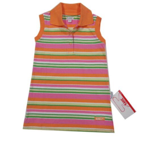 Kanz Kleider Kleid ärmellos Trägerkleid Orange Jerseykleid Baumwolle  Gr.92,104