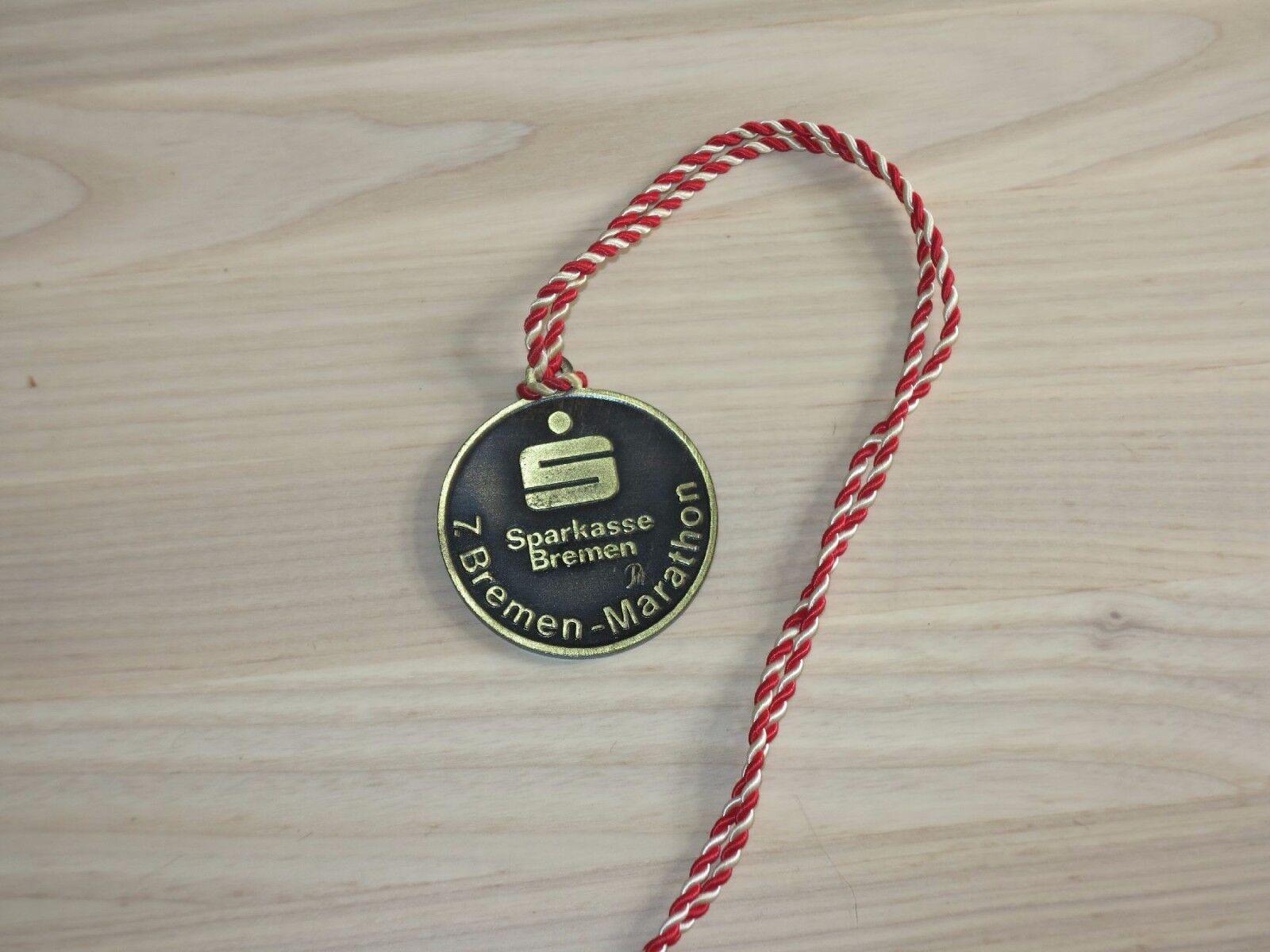 7. Bremen Marathon Medaille Original Subscriber Finisher - Top RAR