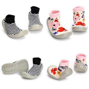 pretty nice a2cc3 28b38 Details zu Baby Kinder Socken Schuhe Krabbelschuhe Hausschuhe Badeschuhe  Lauflernschuhe