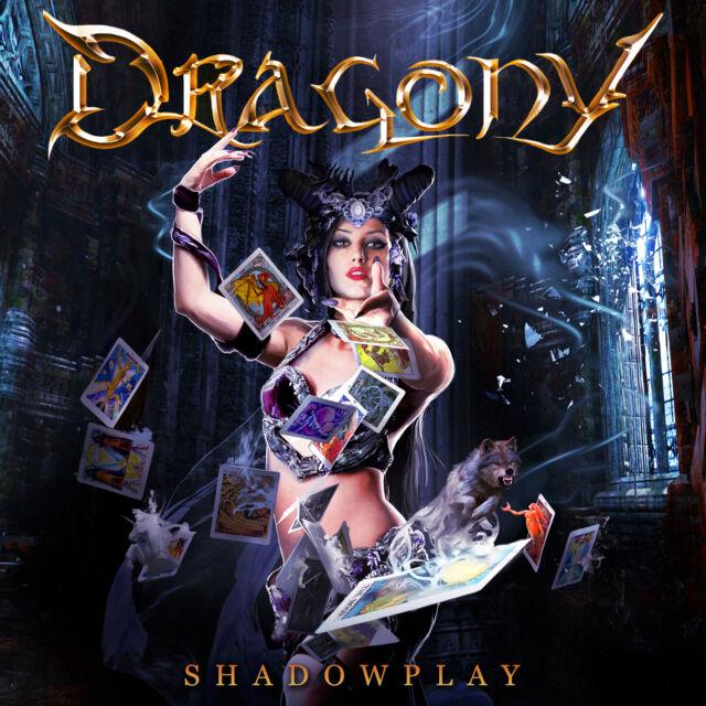 DRAGONY - Shadowplay CD 2015 feat. Zak Stevens (Savatage, TSO) Power Metal