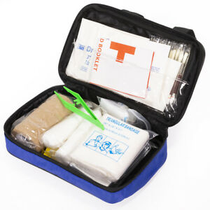 55-Pieces Emergency Medical First Aid Kit Home Office ...