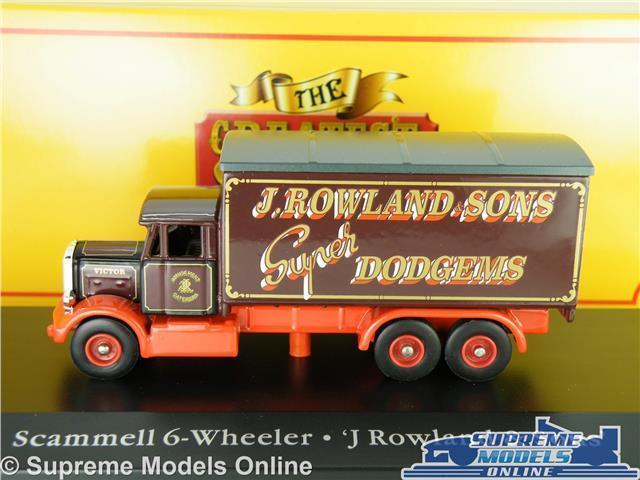 SCAMMELL CONTRACTOR MODEL TRUCK 1:76 AUSTEN BROTHERS CORGI GREATEST 4654106 K8