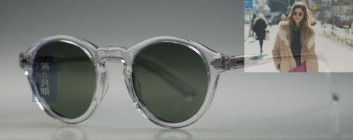 Retro Johnny Depp sunglasses mens womens artists crystal G15 polarized lenses
