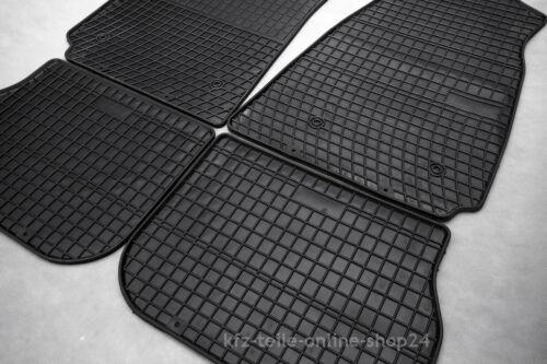 breite Kabine Bj.ab02--/> Automatten Gummi Fußmatten 2tlg für Iveco Stralis