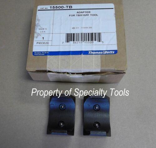 Thomas Betts 15500 adapter Crimper crimping U die Hydraulic 12 15 TON crimp T/&B