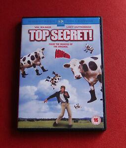 Top-Secret-R2-DVD-Val-Kilmer-Lucy-Gutteridge-Peter-Cushing-Omar-Sharif-OOP