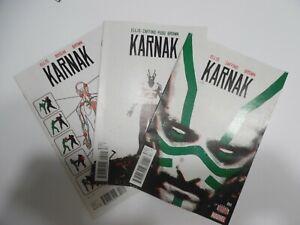 Karnak (Marvel 2015) #1 2 3  Warren Ellis Writes the Inhuman Monk Phil Coulson
