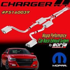 NEW Chrysler Mopar Borla Cat-Back Exhaust System Dodge Charger R/T P5160039
