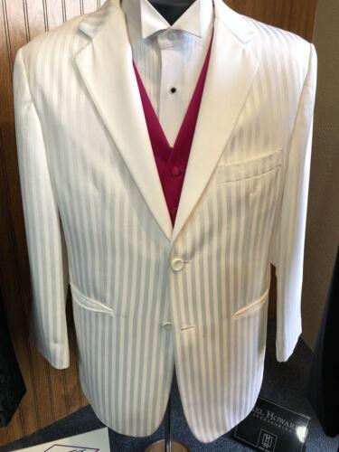 42R White Fubu Tuxedo Coat And Pants