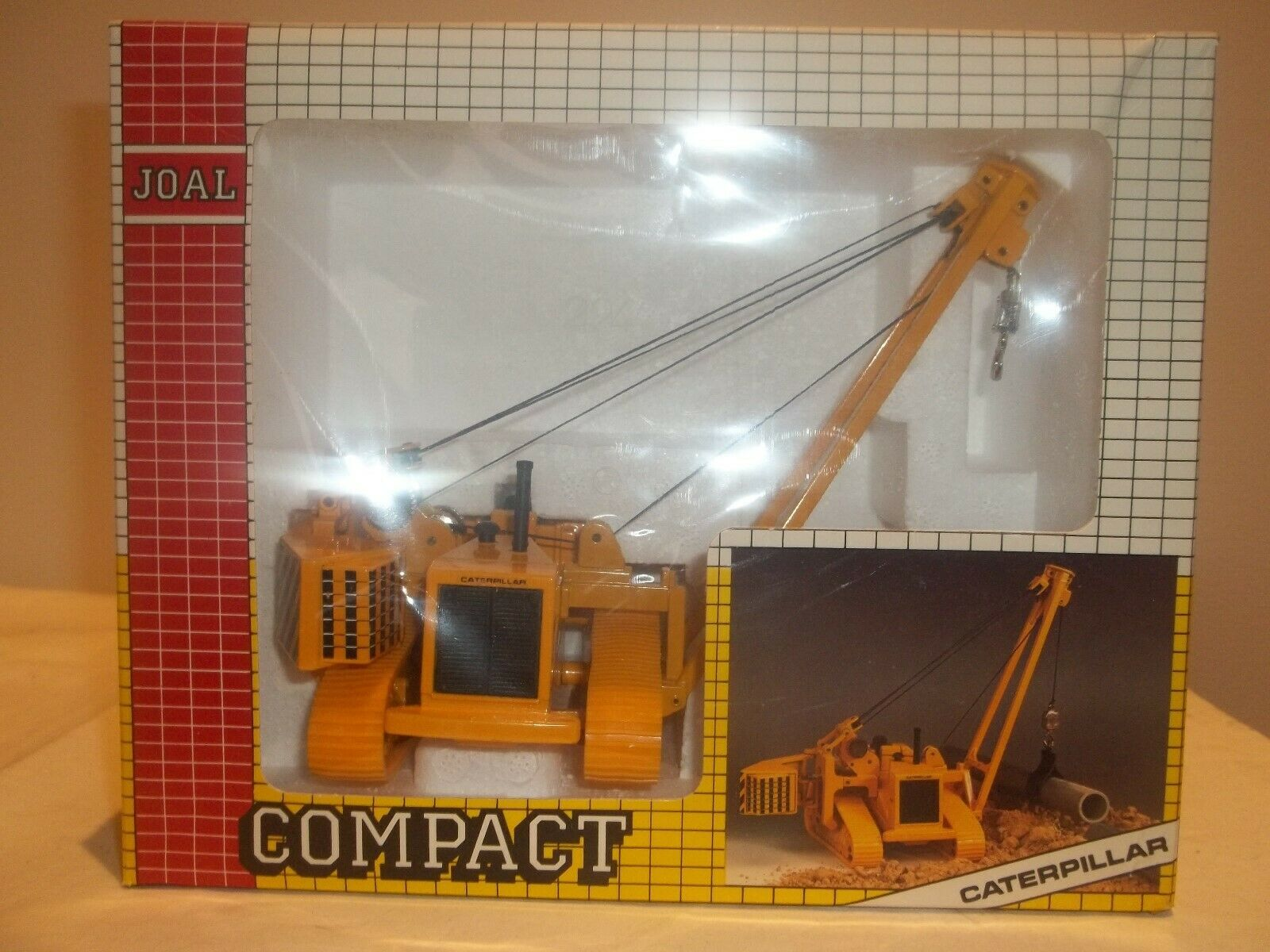 Joal Compact 224 Caterpillar Pipelayer C-591 1 70 Mint & Boxed