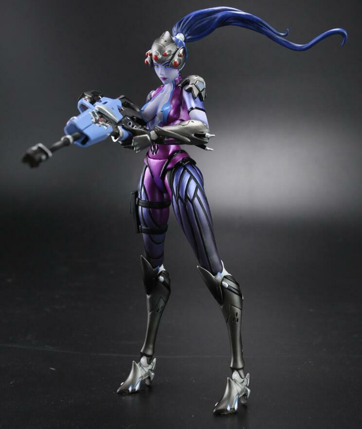 NEW Overwatch OW Heroes Widowmaker Amélie Lacroix Action Figure Collectible