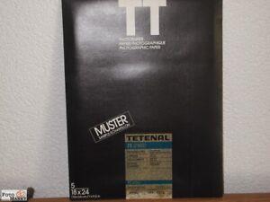 SW-Fotopapier-5-Blatt-Tetenal-18x24-PE-beschichtet-Typ-312-Halbmatt-neutral
