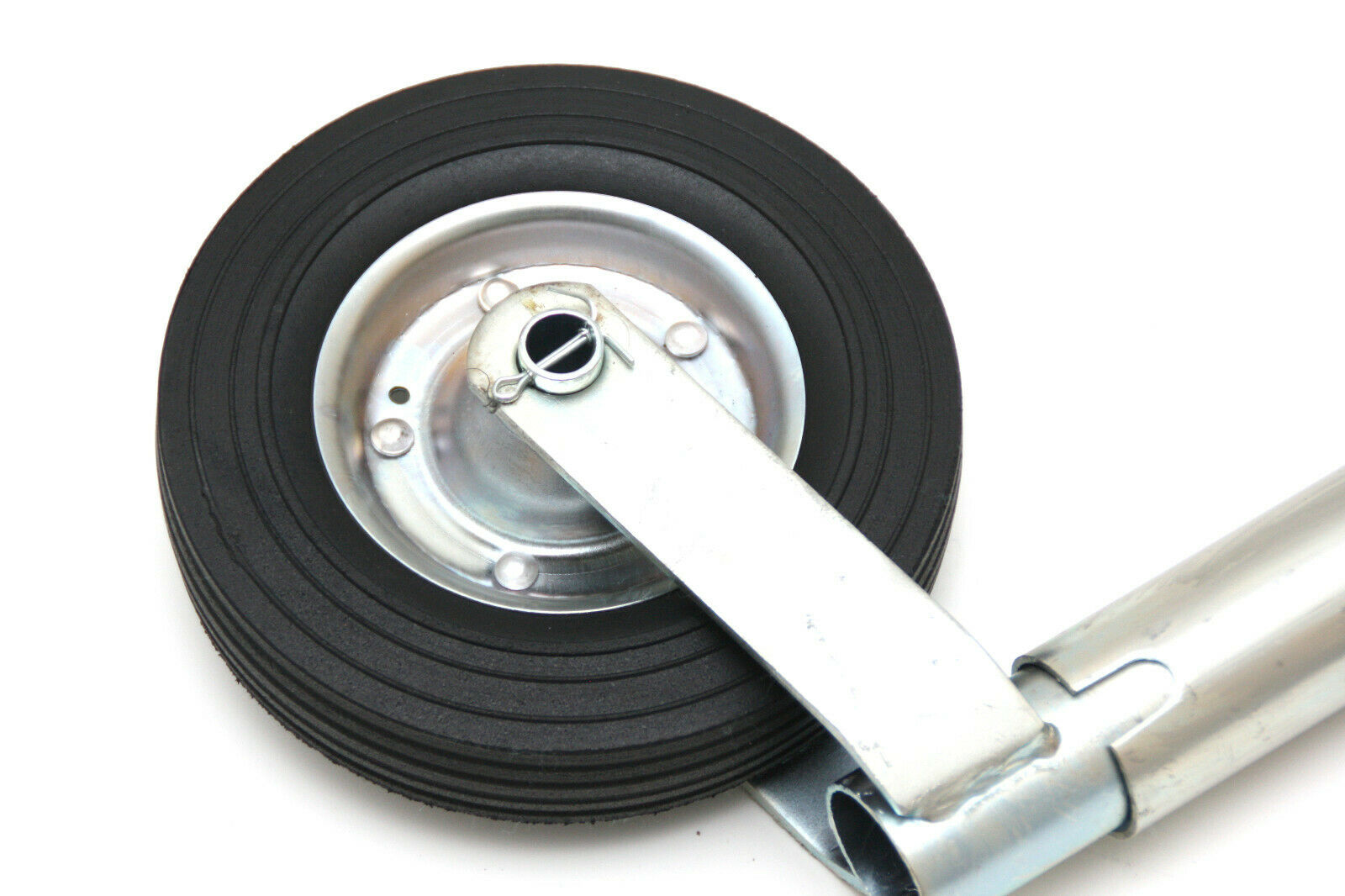 Schraubensatz Klemmhalter Klemmschelle Anhängerstützrad 300 kg Ø 60 mm