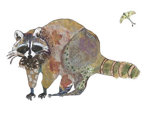 Raccoon Artwork Print