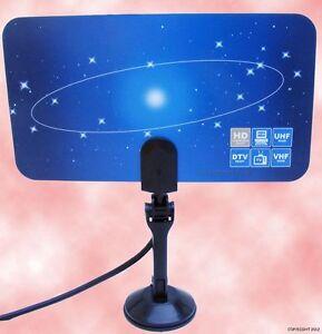New-Digital-Flat-TV-indoor-HDTV-VHF-UHF-Antenna-ATSC-air-OK-for-Tuner-PC-Card
