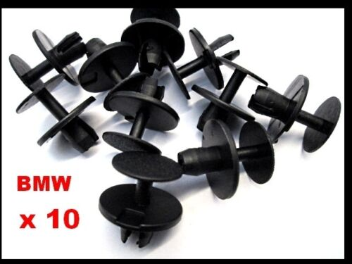 BMW 3 SERIES E36  HOOD /& TRUNK INSULATION REPLACEMENT PLASTIC TRIM CLIPS  T84