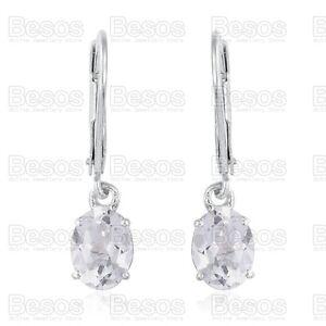 3ct-WHITE-TOPAZ-dropper-EARRINGS-Platinum-STERLING-SILVER-925-leverback-UK-GIFT