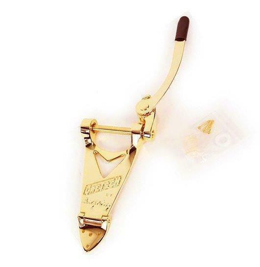 Bigsby Gretsch Logo B3G Tremolo Vibrato Saitenhalter Gold 0060136100 USA Neu