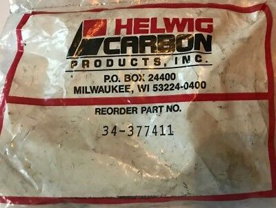 New Helwig Carbon 34-377411 Pack Of 4 DC Motor Brushes