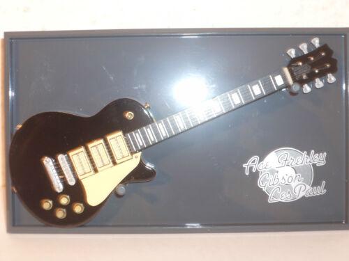 Sammlung Guitars of the Stars Ace Frehley-Gibson Les Paul 17 cm NEU! # 25