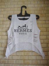 4happyshopping ladies/girls/women tops & T-shirts/ ripped top
