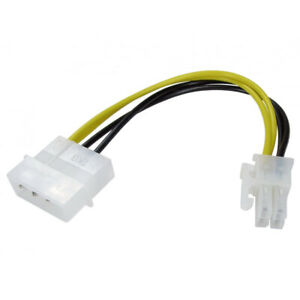 Molex-to-P4-ATX-Power-Adaptor-Cable-Lead-for-PicoPSU-to-Motherboard