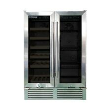 Procool Residential Dual Zone Under Bar Wine And Beverage Cooler