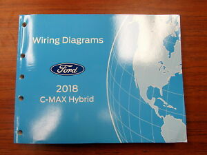 2018 Ford C-Max Hybrid Electrical Wiring Diagram Manual | eBay