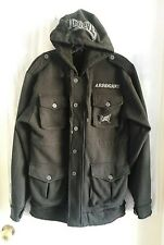 Tapout Jacket First Rank Military Hoodie Black Arrogant UFC Mma Size Small
